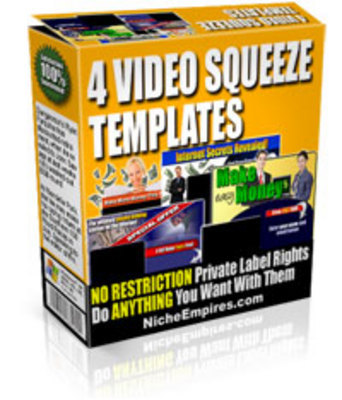 Product picture Squeeze_Templates_PLR