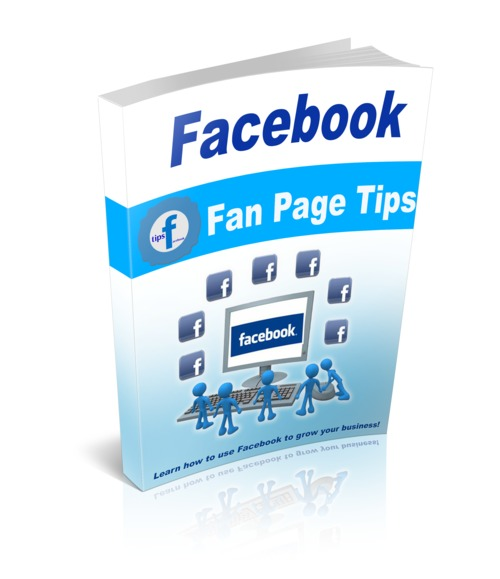 Product picture Facebook Fan Page Tips